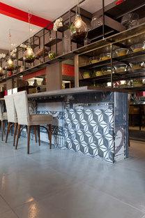 Active Ceramic para el Restaurante Èvviva, Grand Hotel de Riccione
