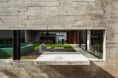Flavio Castro, Casa Planalto edificio residencial en San Paolo, Brasil