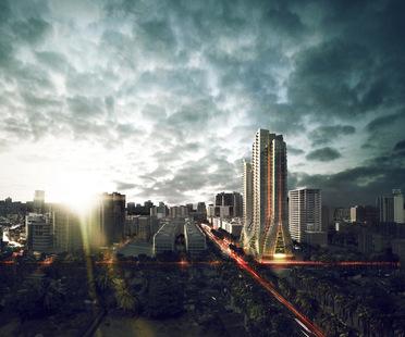 Grove Towers, primer proyecto de los arquitectos 3XN en Bombay