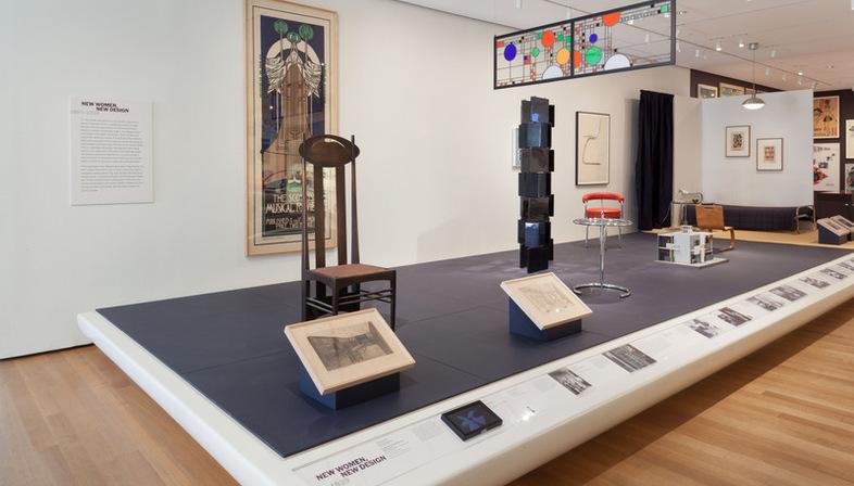 Exposicion Designing Modern Women 1890–1990 MoMA Nueva York ...