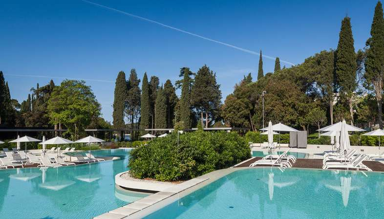 Studio 3LHD Lone Outdoor Pool nel parco forestale Golden Cape Rovinj Croazia