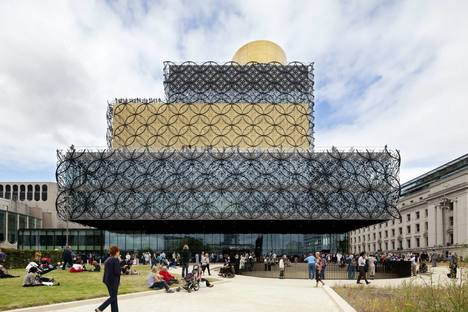 Mecanoo Architecten Library Of Birmingham, ph.Christian Richters
