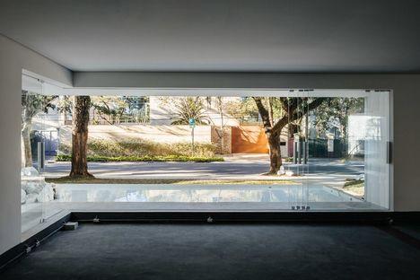Triptyque y la galería comercial Groenlândia en Sao Paulo