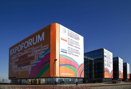 Expoforum de San Petersburgo: Speech y Gerasimov con GranitiFiandre