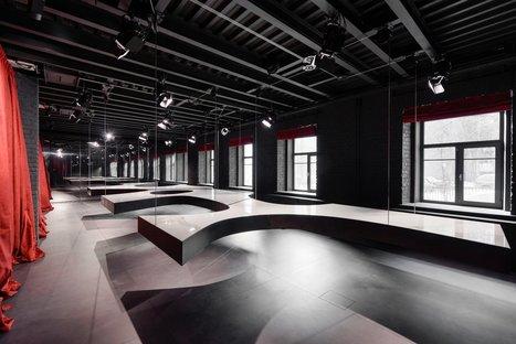 SuperSurfaceSpace Gallery del Grupo Iris, proyecto Metrogramma, Moscú