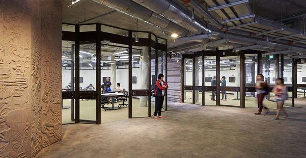 Learning Hub (Centro de Aprendizaje) de Heatherwick en la Universidad Tecnológica de Nanyang, Singapur