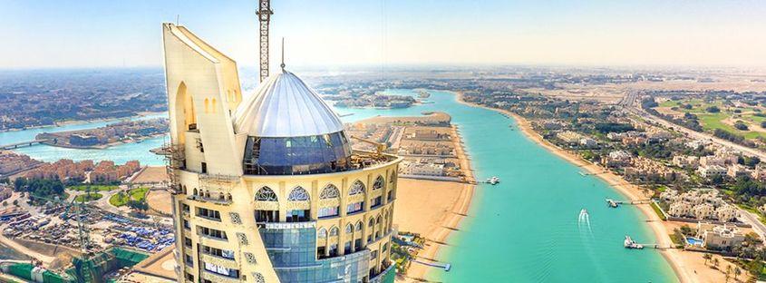 South West Architecture con FMG en la Falcon Tower de Doha