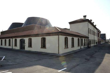 Destilería Zanin Zugliano realizada con suelos FMG
