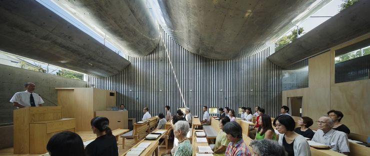 Takeshi Hosaka y la Iglesia de Cristo de Shonan en Fujisawa (Japón)