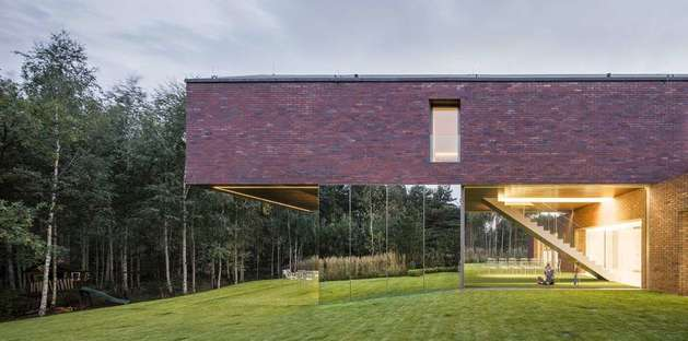 Konieczny – KWK Promes y la Living-garden house, Polonia
