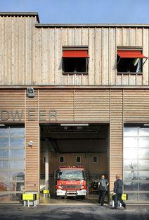 Bovenbouw: nueva estación de bomberos en Berendrecht