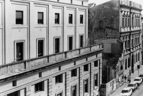 Vincenzo Latina y el Pabellón del Artemisión de Siracusa