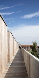 Dorte Mandrup y el complejo SH2-Sundbyoster Hall II en Copenhague