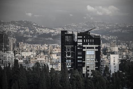 Bernard Khoury y la enigmática Residencia NBK (2) en Beirut