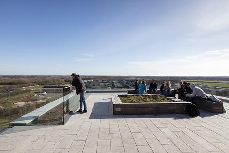 CF Moller: residencia de estudiantes, University of Southern Denmark