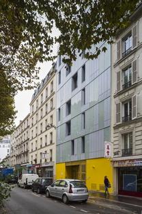 InSpace Architecture París: viviendas sociales y centro para familias