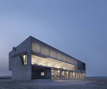 Vector Architects y la Seashore Library en la playa, en China