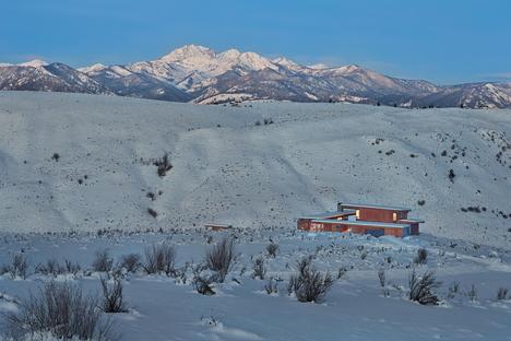 Olson Kundig, refugio rural Studhorse, Methow Valley (EE.UU.)