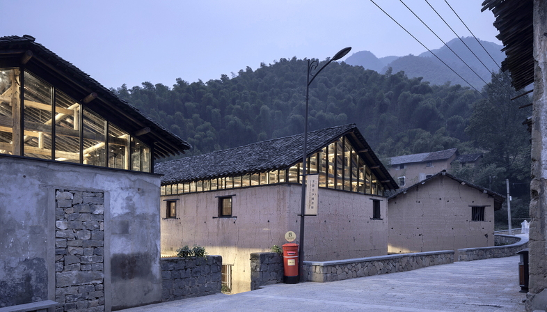 AZL Architects y la Librairie Avant-Garde Tonglu, China