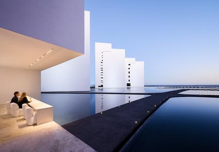 Miguel Ángel Aragonés: hotel y urbanización Mar Adentro en México