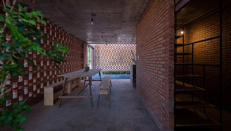 LT house de Tropical Space en Vietnam