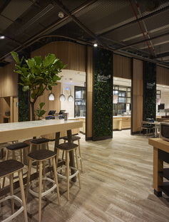 Area 17 INRES Carlo Ratti: el Supermercado del futuro en la zona de Bicocca, en Milán