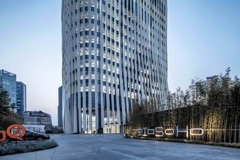Kengo Kuma: nuevas oficinas Hongkou Soho en Shanghai