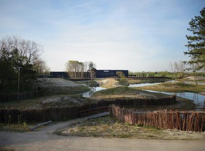 Coussée & Goris: centro de visitantes del Parque natural de Zwin