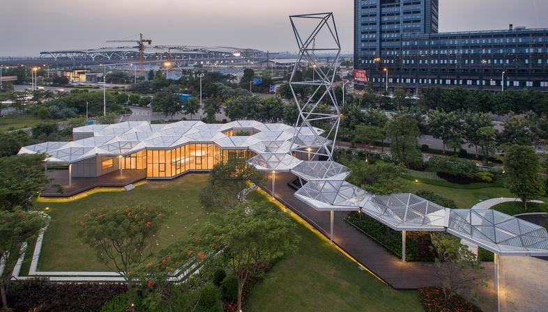 OPEN Architecture: prototipo del sistema HEX-SYS en Guangzhou, China