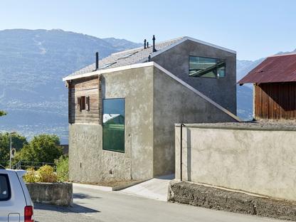 Casa Reynard Rossi-Udry de Savioz Fabrizzi architectes en Ormône