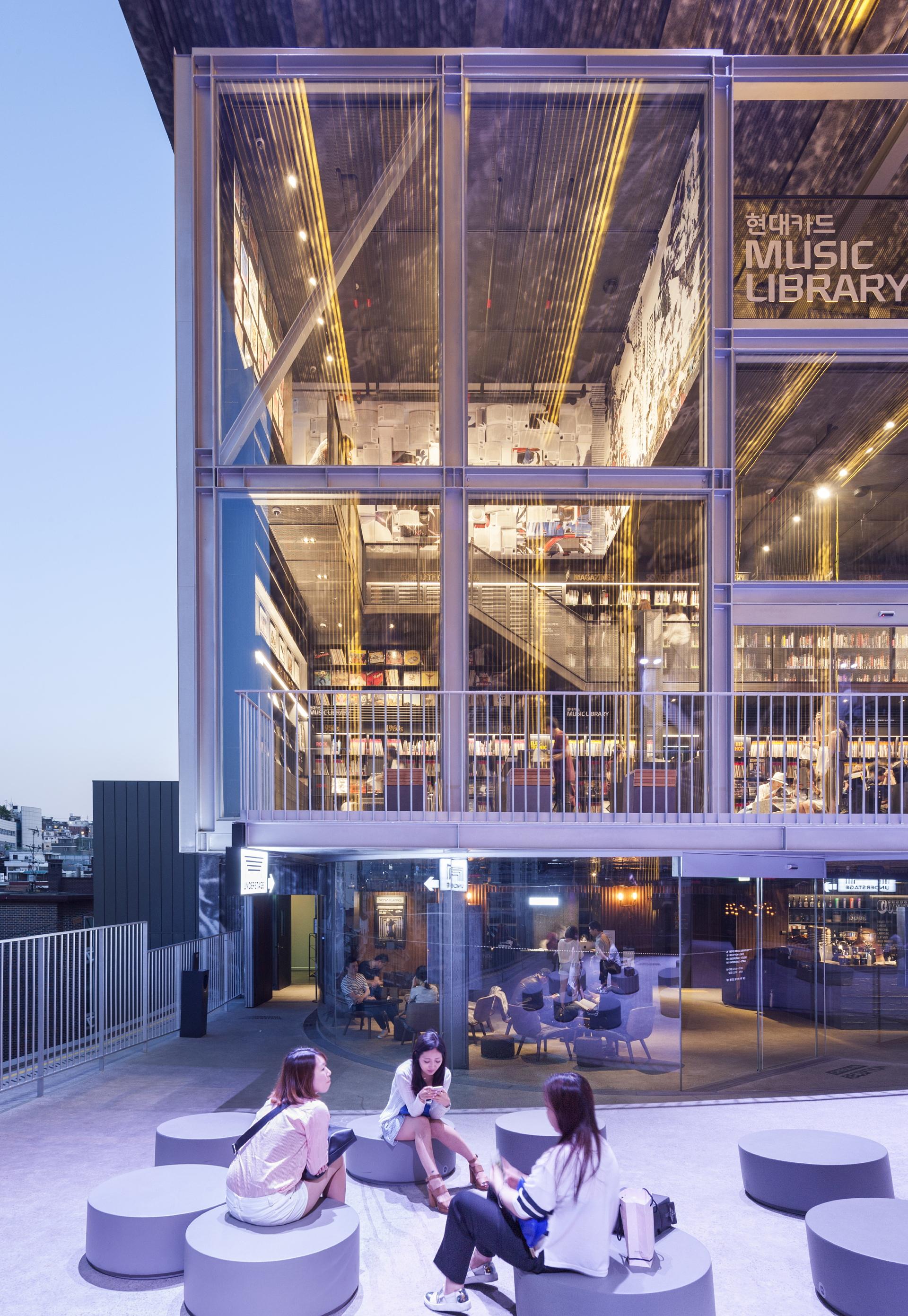 Moongyu Choi + Ga.A Architects: H Music Library en Seúl