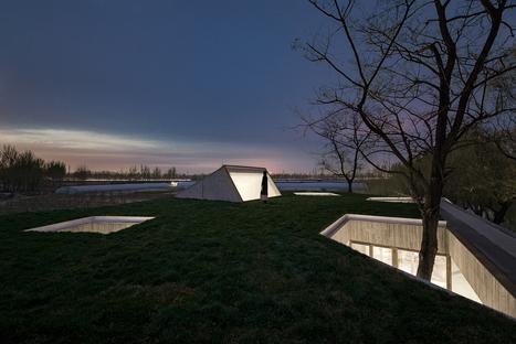 Archstudio: Templo budista a orillas del río en Tangshan, China
