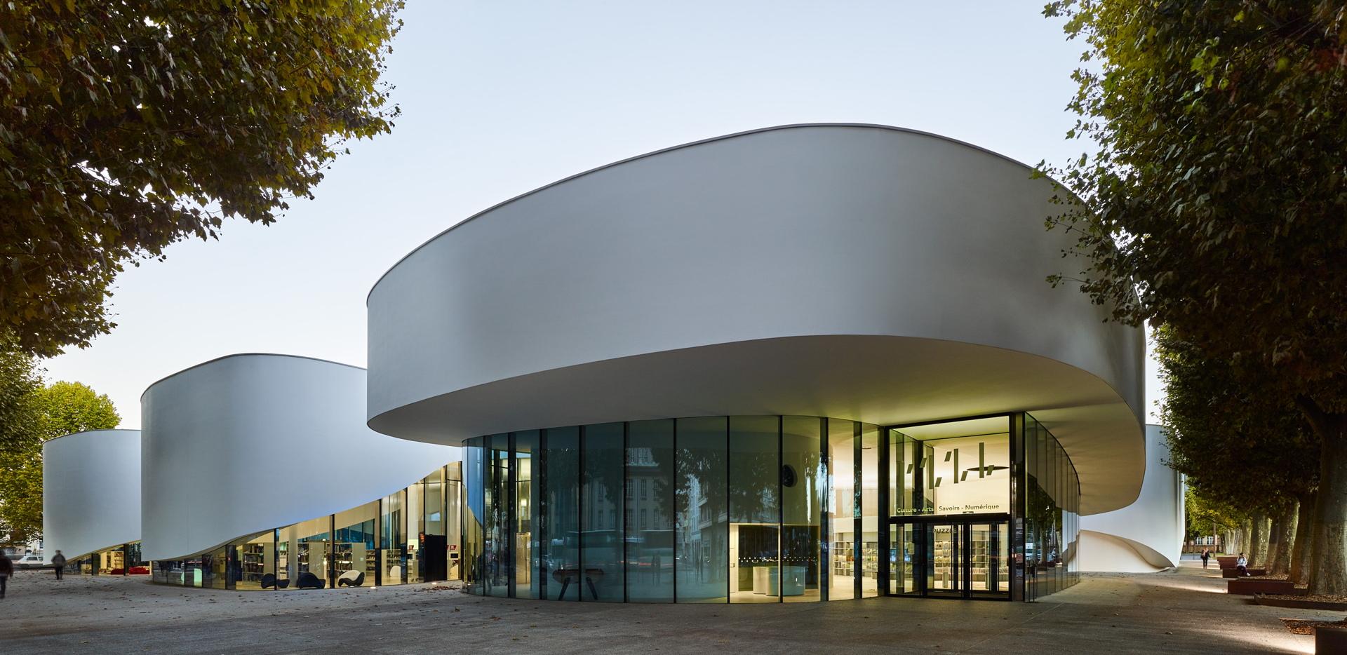 Dominique Coulon: Mediateca Third-Place en Thionville