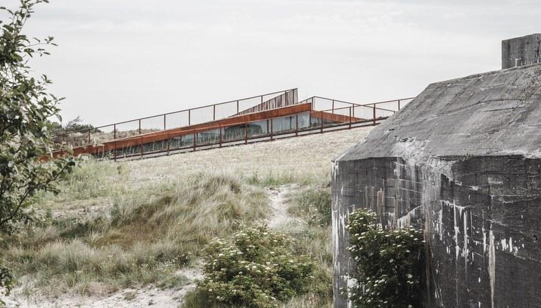 BIG-Bjarke Ingels Group: Tirpitz, museo del Muro Atlántico