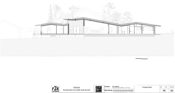 R2k architectes: Relais d'Assistance Maternelle en Tencin, Francia