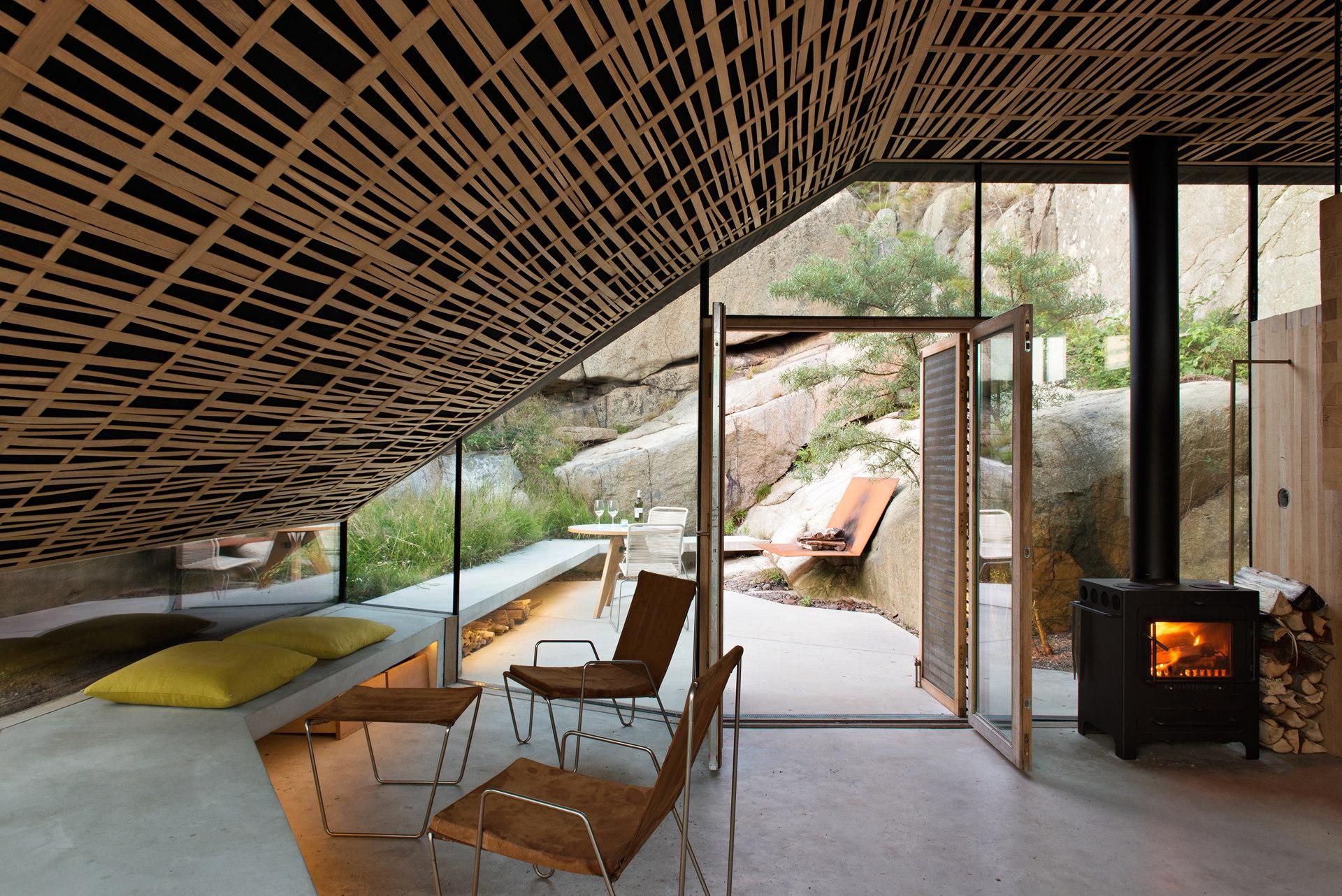 Lund Hagem Architects: Cabin Knapphullet en los fiordos noruegos