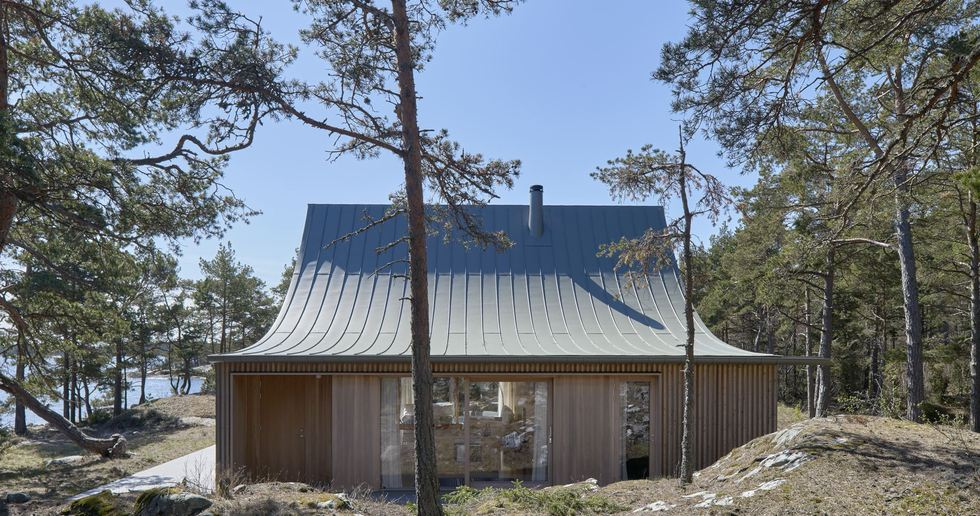 Tham & Videgård y la casa Krokholmen, Estocolmo