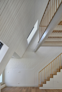 Bovenbouw: reforma de edificios en Leysstraat en Amberes