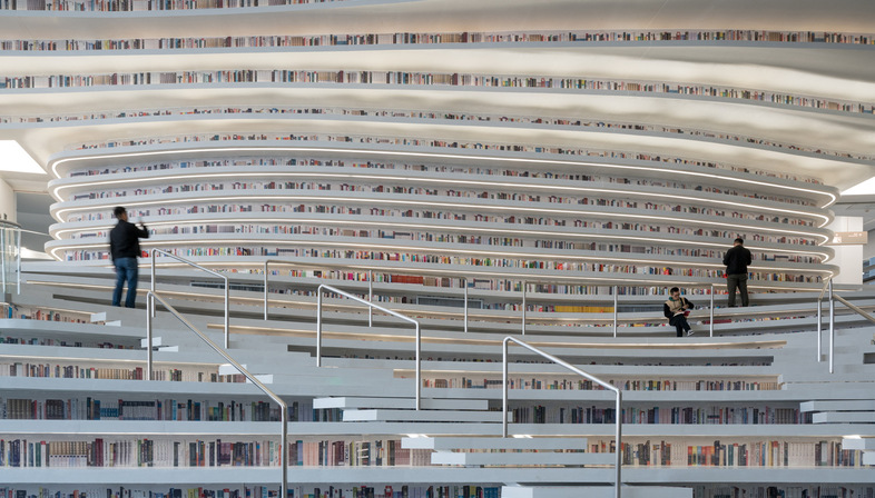 MVRDV: Biblioteca Tianjin Binhai