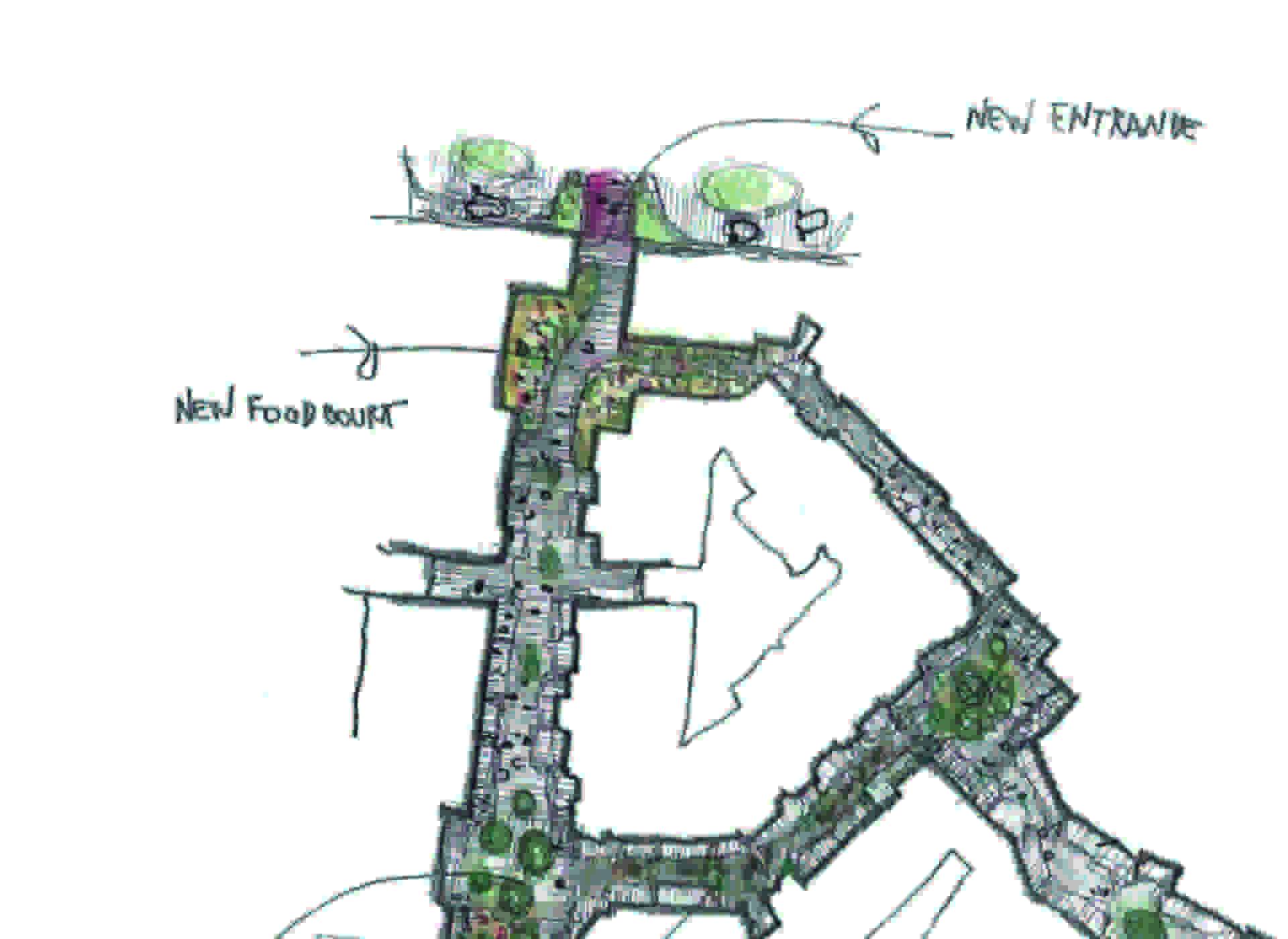 Lombardini22: Nueva entrada y Zona de Restaurantes en el Valmontone Outlet