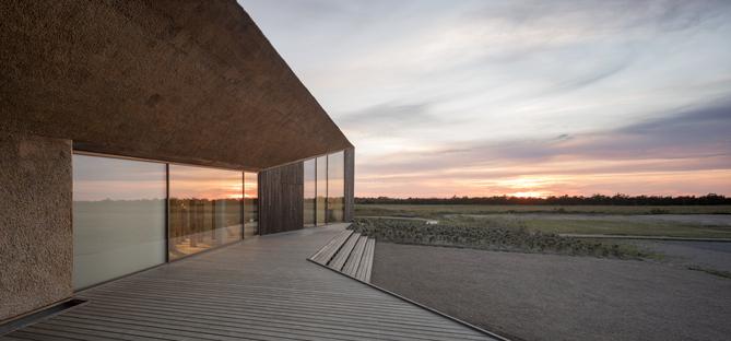 Dorte Mandrup y el Wadden Sea Centre, Dinamarca