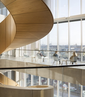 C.F. Møller: Maersk Tower, Panum Building en Copenhague