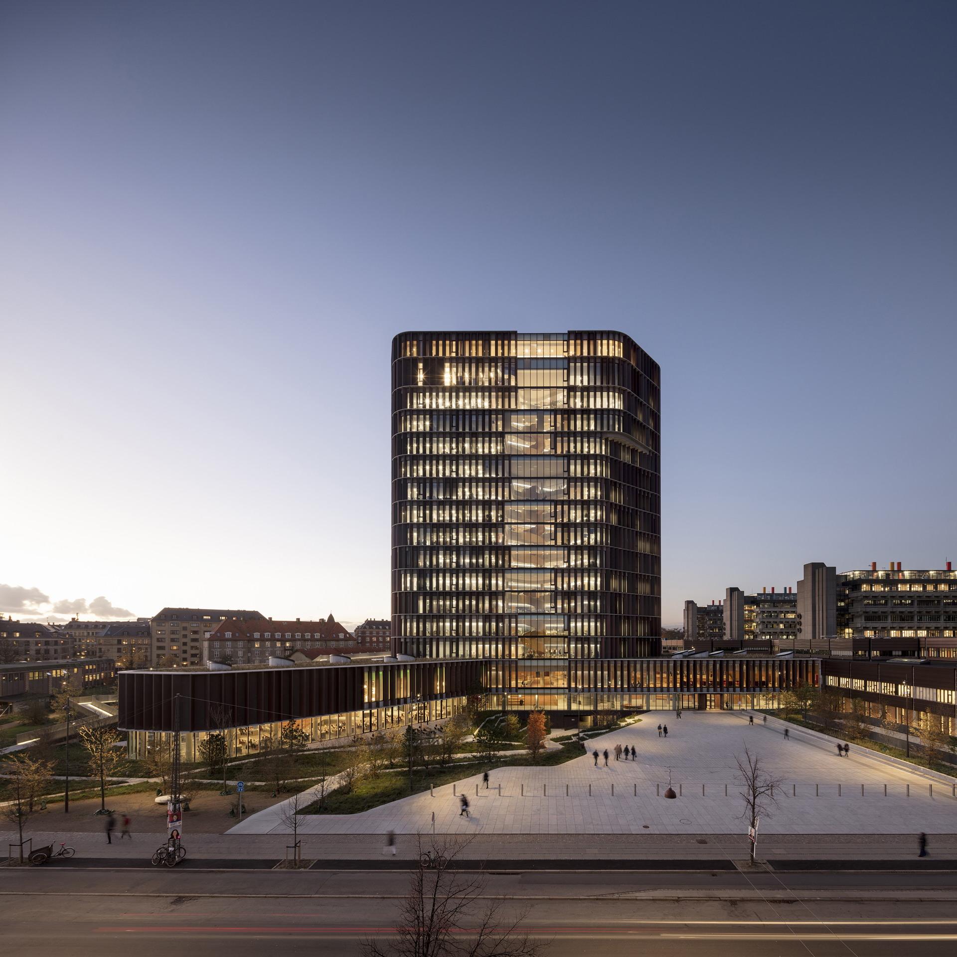 C.F. Møller: Maersk Tower, Panum Building en Copenhague