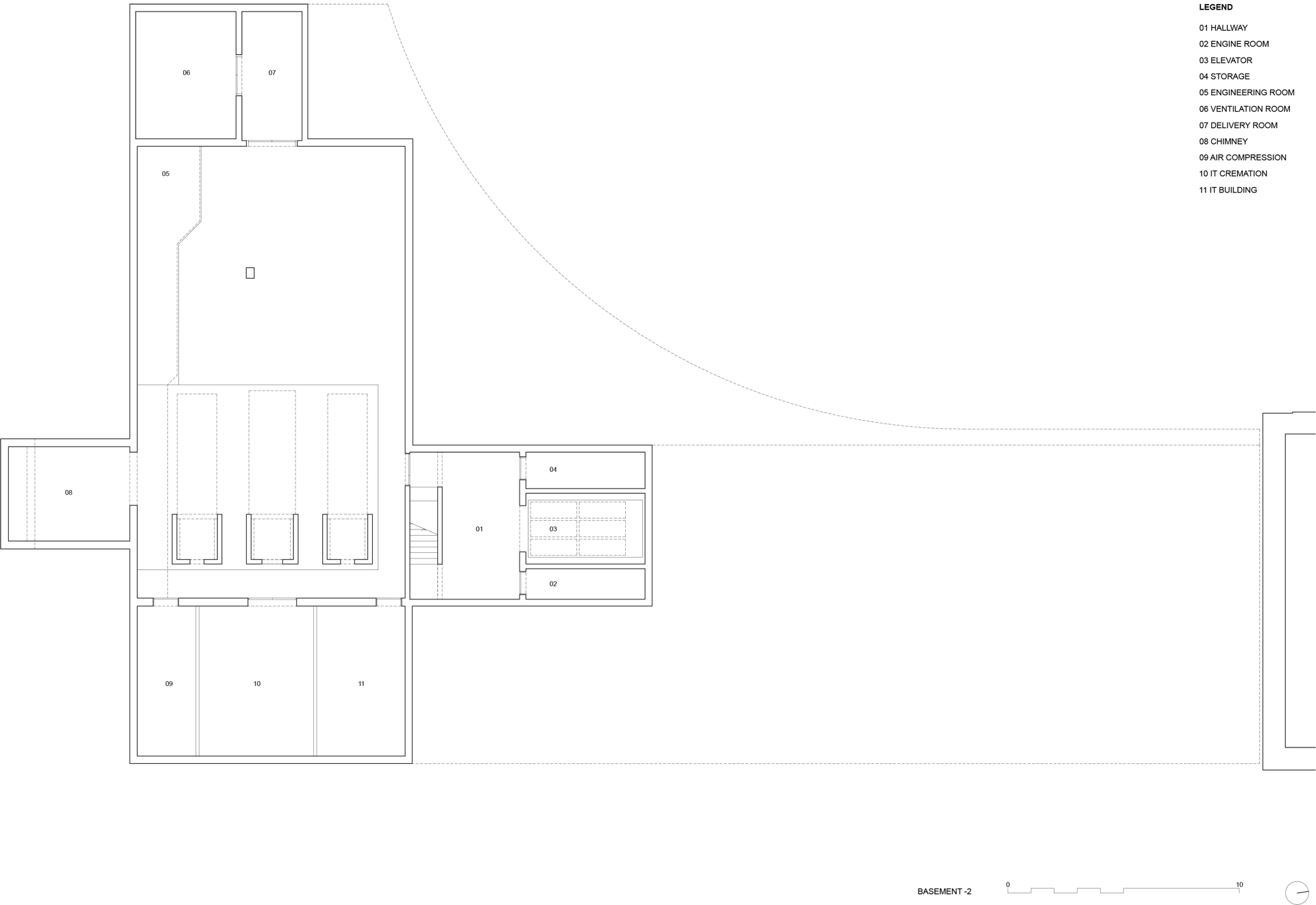 Garrigues Maurer: nuevo crematorio del cementerio de Hörnli, Basilea