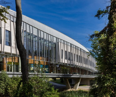 Ennead Architects: Bridge for Laboratory Sciences en Poughkeepsie