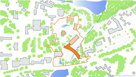 Ennead Architects: Bridge for Laboratory Sciences en Poughkeepsie