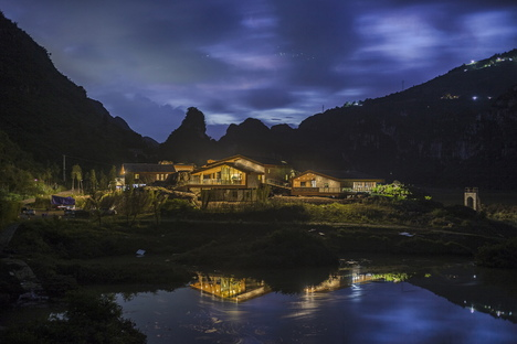 He Wei: Centro turístico de Anlong