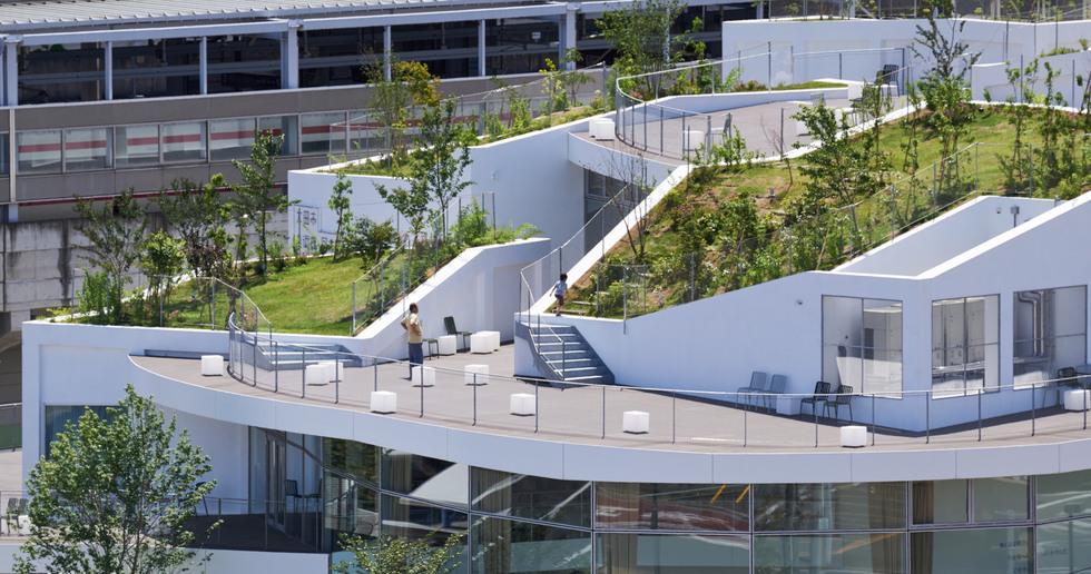 Akihisa Hirata: Museo de Arte y Biblioteca en Ota, Japón