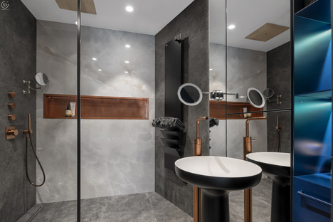 33 by architecture: Black is back, vivienda en Kiev