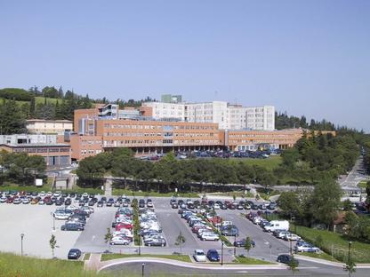 Recualificación de la unidad de hospitalización, Hospital Bufalini en Cesena